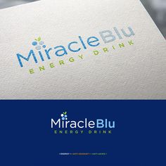 Miracle Blu logo design by heatherita