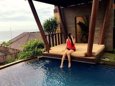 Romantic beach front villas and resorts Bali