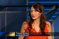 Tinsel Korey wearing BoAime on KCal 9