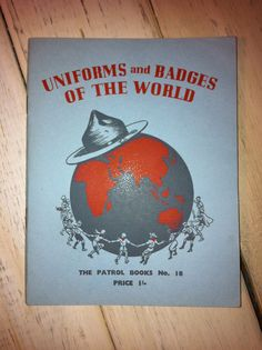 Uniforms and Badges Of The World- The Patrol Books No 18- The Boy Scouts Association-1960 on Etsy, $10.00 CAD