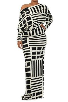 Evening Dresses plus size dress with sleeves Size White Long Sleeve Maxi Dress… Curvy Girl Fashion, Love Fashion, Plus Size Fashion, Petite Fashion, Fall Fashion, Style Fashion, Plus Zise, Mode Plus, Plus Size Dresses