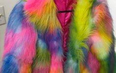 Cosmic+Unicornz+Rainbow+Faux+Fur+Jacket