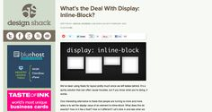 Diplay Inline -    http://designshack.net/articles/css/whats-the-deal-with-display-inline-block/