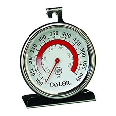 Taylor 5932 Classic Stainless Steel Oven Thermometer