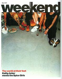 Guardian Weekend Tabloid, late 90s