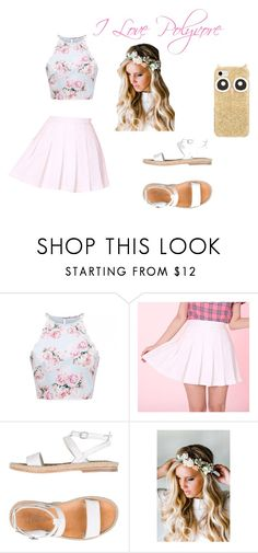 """Summer of love"" by maja-zmeskalova on Polyvore featuring n.d.c., Emily Rose Flower Crowns and Kate Spade"