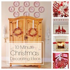 Ten Minute Decorating Ideas