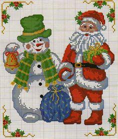 pinterest pupazzi di neve punto croce alfabeto - Cerca con Google
