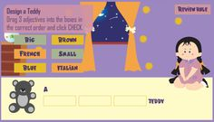 Adjectival Teddy: The Game