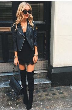 Nice 41 Best Winter Fall Outfits for Night Party http://inspinre.com/2017/12/17/41-best-winter-fall-outfits-night-party/