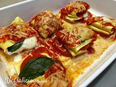 Nieuwe recept: Opgevouwen Caprese lasagne