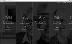 http://www.apple.com/30-years   , cool timeline idea