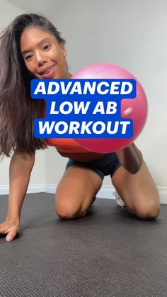 Low Ab Workout, Ab Workout At Home, Ab Workouts, Workout Routines, Workout Videos, At Home Workouts, Lower Belly, Flat Belly, Fitness Abs