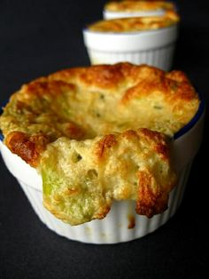 Crab and Leek Souffle by Acquired Life, via Flickr