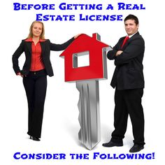 Before Getting a Real Estate License, Consider These Things! - #EstateAgentsLeaflets #EstateAgents #RealEstate