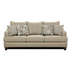 Gray Contemporary Sofa | Nebraska Furniture Mart Yes or no? I'm not quite sure if this is what I want or not...