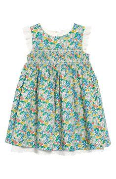 Mini Boden Nostalgic Smocked Dress (Toddler, Little Girl & Big Girl) Kids Dress Wear, Mini Boden, Toddler Dress, Boy Fashion, Dresser, Nordstrom, Summer Dresses, Clothes For Women, Eyelet Lace