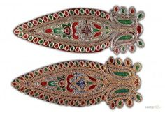 Rajasthani Patch Work With Bead $45 For 10 Pcs
