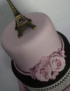 Bolo Paris: 30 ideias para você se inspirar: #bolosdecorados  #aniversario #festa #festaadulto #confeitaria #bolodeparis #paris Bolo Paris, 30, Fashion, Cowboy Cakes, Decorating Cakes, Good Ideas, Moda, La Mode, Fasion