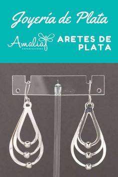 1ae3669f1b72 Las 37 mejores imágenes de Aretes en plata