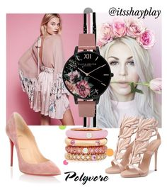 """rose gold pink"" by itsshayplay on Polyvore featuring York Wallcoverings, Michael Kors, LE VIAN, Luv Aj, Zoë Chicco, Daum, Vivienne Westwood, 2LUV, Adolfo Courrier and Bayco"