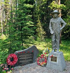 WWI Internment Camp Memorial in Banff National Park, Alberta, Canada.