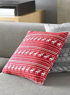 scandinavian print cushions