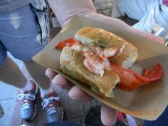 Food and wine Festival 2012: Linda Bean's® Perfect Maine Lobster Roll®