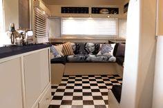 Caravan Interior Makeover on Top Design