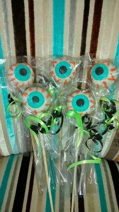 Cakepops ojos de Halloween
