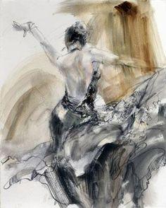 Spanish Heat (sepia 2) by Anna Razumovskay