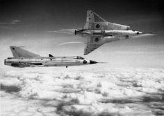 Royal Swedish Air Force - SAAB 35 Draken (The Dragon)