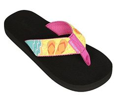 9b8bcd66d9d3f Tidewater Sandals Womens Boardwalk Sandals Beach 7 M -- This is an Amazon  Affiliate link