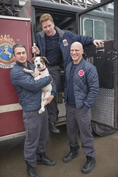 Man's best friend! #ChicagoFire