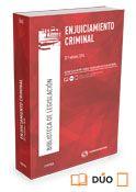 Enjuiciamiento criminal Madrid : Cívitas, 2016