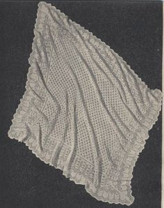 Knitting Patterns For Baby Blankets And Shawls : INSTANT DOWNLOAD Baby BLANKET Knitting Pattern - Beautiful ...