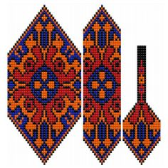 VK is the largest European social network with more than 100 million active users. Bead Loom Patterns, Peyote Patterns, Beading Patterns, Beaded Necklace Patterns, Beads Pictures, Tear, Beads And Wire, Knitting Charts, Loom Beading