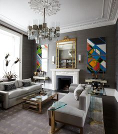 Bianca Hall Living Room Design