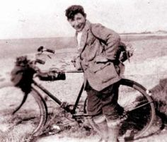 Benny Rothman, organiser of the Kinder Mass Trespass, April 1932 ( http://www.kindertrespass.com/ ). Born in Cheetham Hill, Manchester, in 1911.