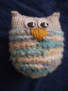 TUTORIAL- Jak zrobić sowę- maskotkę na drutach?