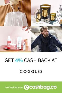 Shop for clothes, shoes, bags & accessories at Coggles + activate your 4% cash back!  #fashion #shopping #rewards (Offer available in following countries: Canada & United States) International Fashion, Designer Collection, Designing Women, Countries, United States, Canada, Bags, Clothes, Shopping