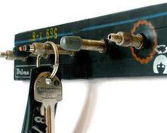 cycling key holder