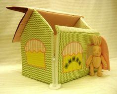 Как сшить мягкий кукольный домик + очень много идей домика и есть идея колыбельки. Обсуждение на LiveInternet - Российский Сервис Онлайн-Дневников