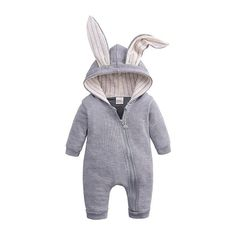 Our Cute Baby Bear Outfits is made of high-quality double-layer lining and cotton, the cozy fuzzy fabric is super soft and comfortable to wear for your little baby, skin-friendly, warm, breathable, and no Fluorescer, safe for baby tender skin. Give your baby a warm winter. Our Onesie Baby Jumpsuit uses a diagonal zipper, daddy and mommy would felt very convenient to wear & take off clothes for babies.The Cartoon Hoodie for Newborn Baby, lovely bear ears design for your baby, it can keep them Baby Outfits Newborn, Baby Boy Outfits, Kids Outfits, Baby Newborn, Winter Newborn, Baby Girl Winter, Baby Boy Jumpsuit, Kids Overalls, Jumpsuits For Girls