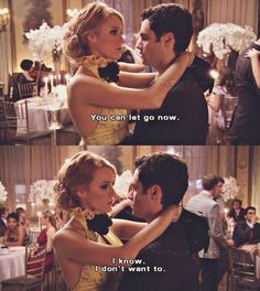 'Sometimes all you need in life is someone to wrap their arms around you, hold you tight and assure you that everything is going to be just fine'xoxo Gossip Girl - Gossip Girl Quotes, Gossip Girls, Fangirl, Tv Show Couples, Jenny Humphrey, Penn Badgley, Girls Diary, Nate Archibald, Libros