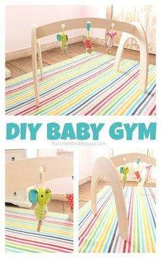 """That's My Letter: """"B"""" is for Baby Gym"""