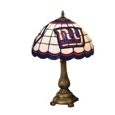 Special Offers - NFL New York Giants Tiffany Table Lamp - In stock & Free Shipping. You can save more money! Check It (July 12 2016 at 06:43AM) >> http://tablelampusa.net/nfl-new-york-giants-tiffany-table-lamp/