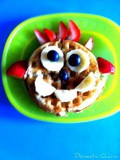 Waffle Funny Face