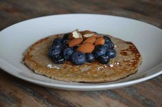 Dit is een populair ontbijt onder fitnessfanaten, want: veel eiwitten en koolhydraten. Een goede post-workout maaltijd voor op de zondagmorgen. Superlekker en easy peasy...