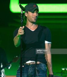 Enrique Iglesias performs during his co-headlining tour with Jennifer Lopez at Prudential Center on July 20, 2012 in Newark, United States.